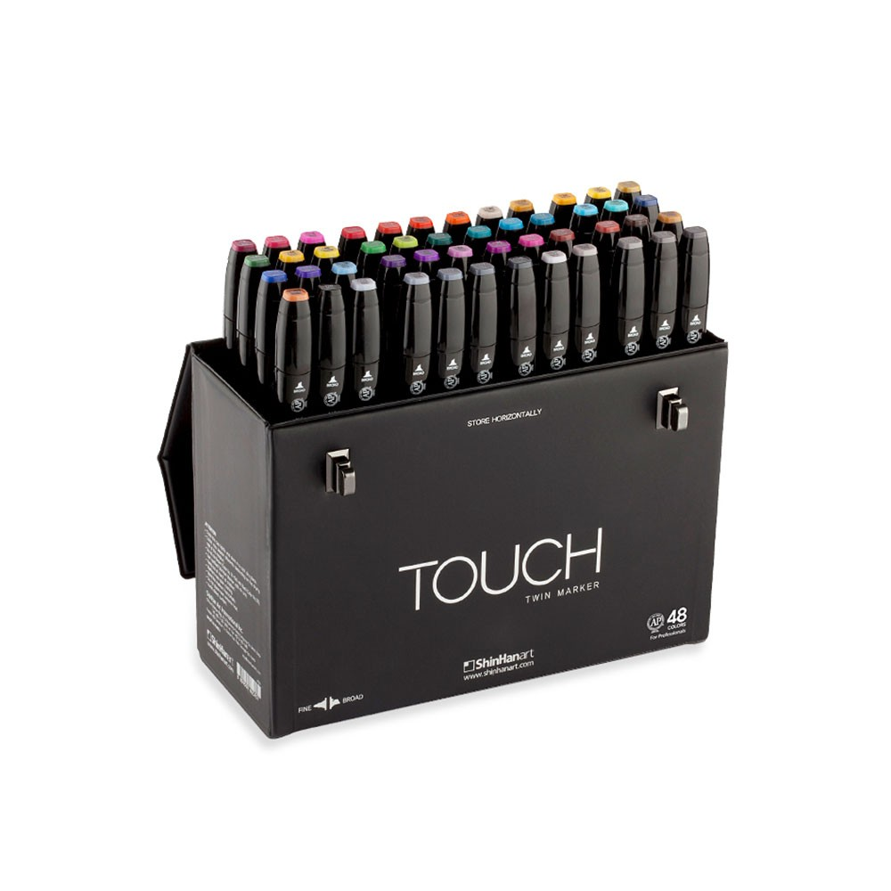 Shin Han : Touch Twin 48 Marker Pen Set : Assorted