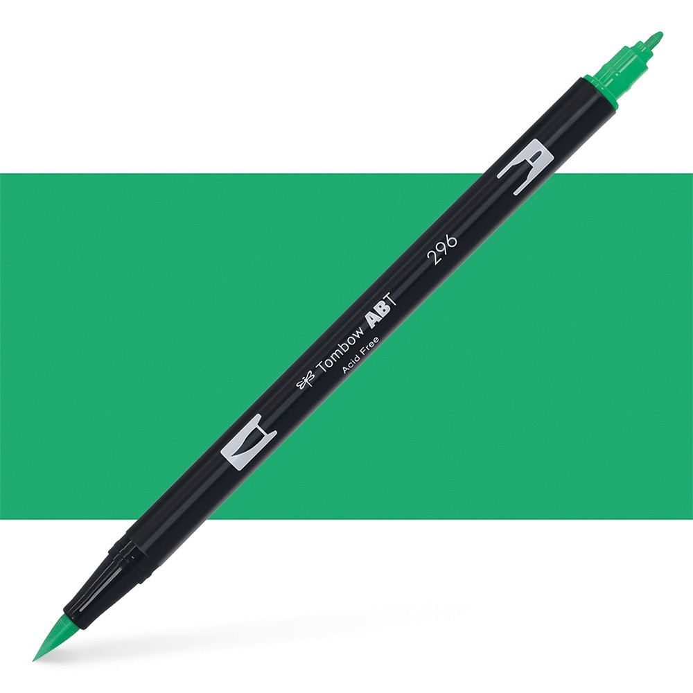 Tombow : Dual Tip Blendable Brush Pen : Green