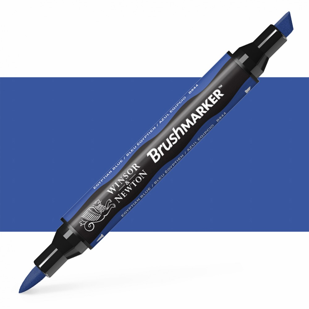 Winsor & Newton : Brush Marker : Egyptian Blue