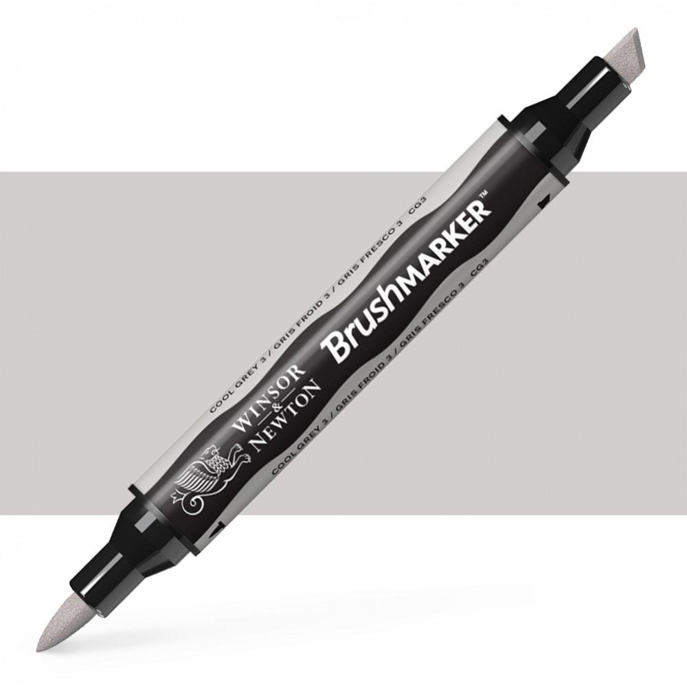 Winsor & Newton : Brush Marker : Cool Grey 3