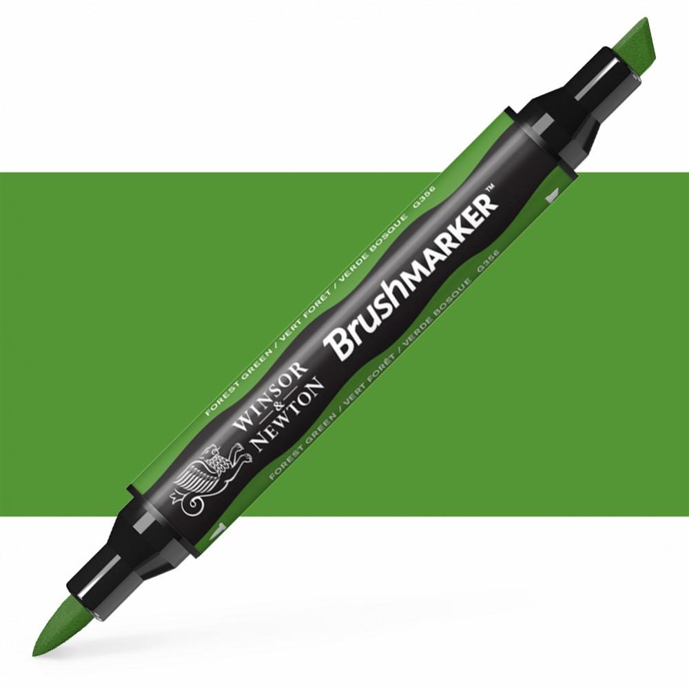 Winsor & Newton : Brush Marker : Forest Green
