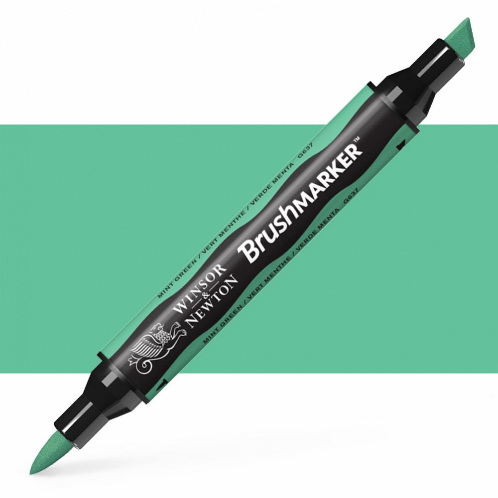 Winsor & Newton : Brush Marker : Mint Green