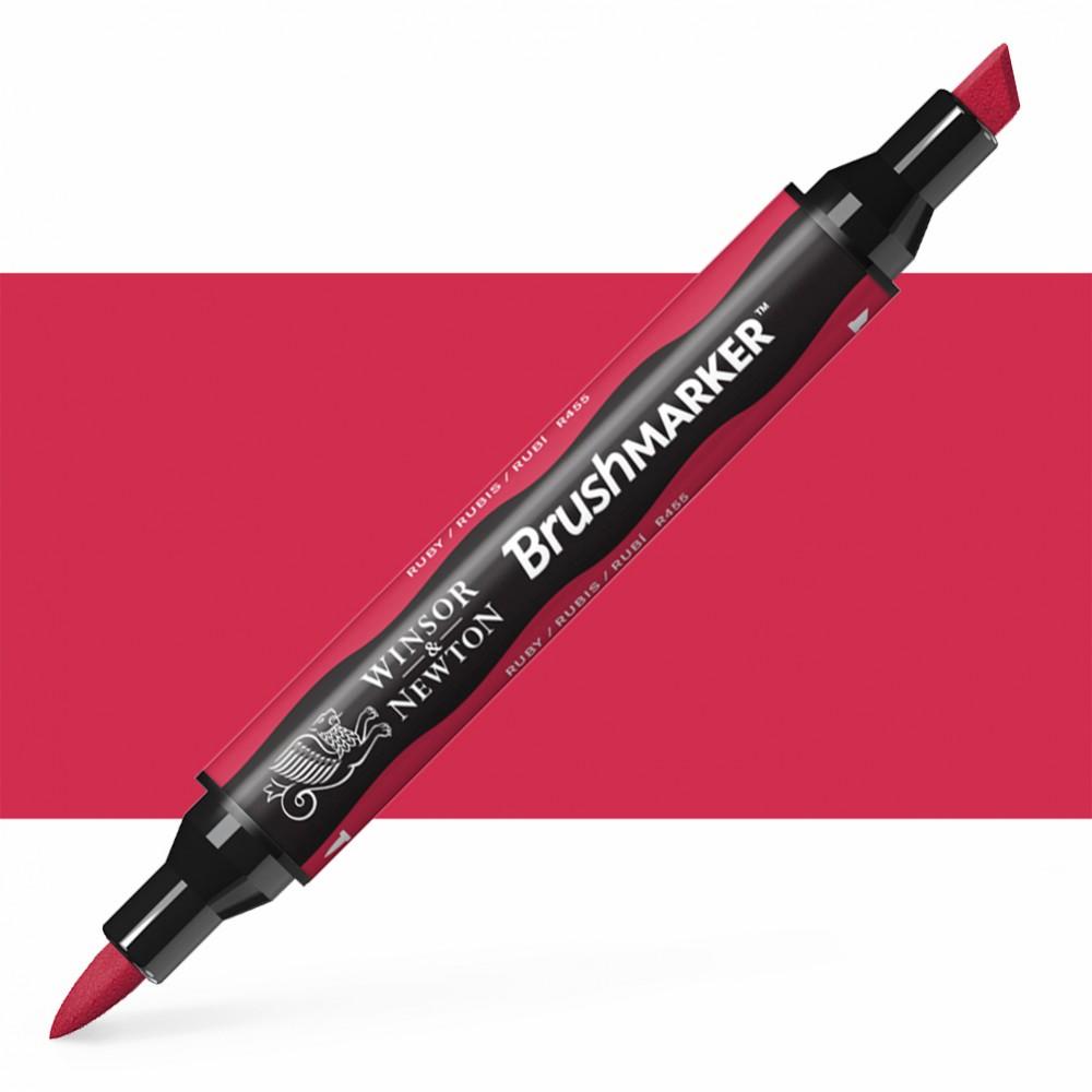 Winsor & Newton : Brush Marker : Ruby