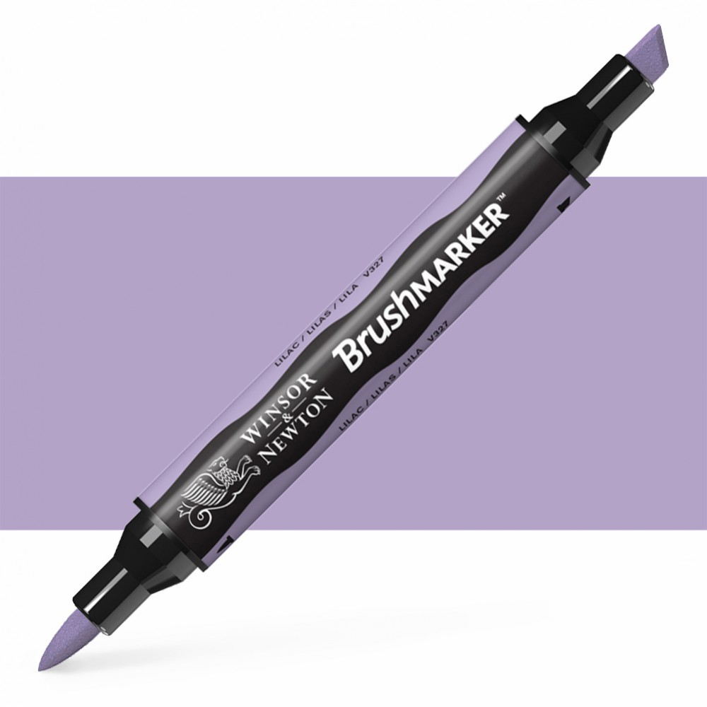 Winsor & Newton : Brush Marker : Lilac