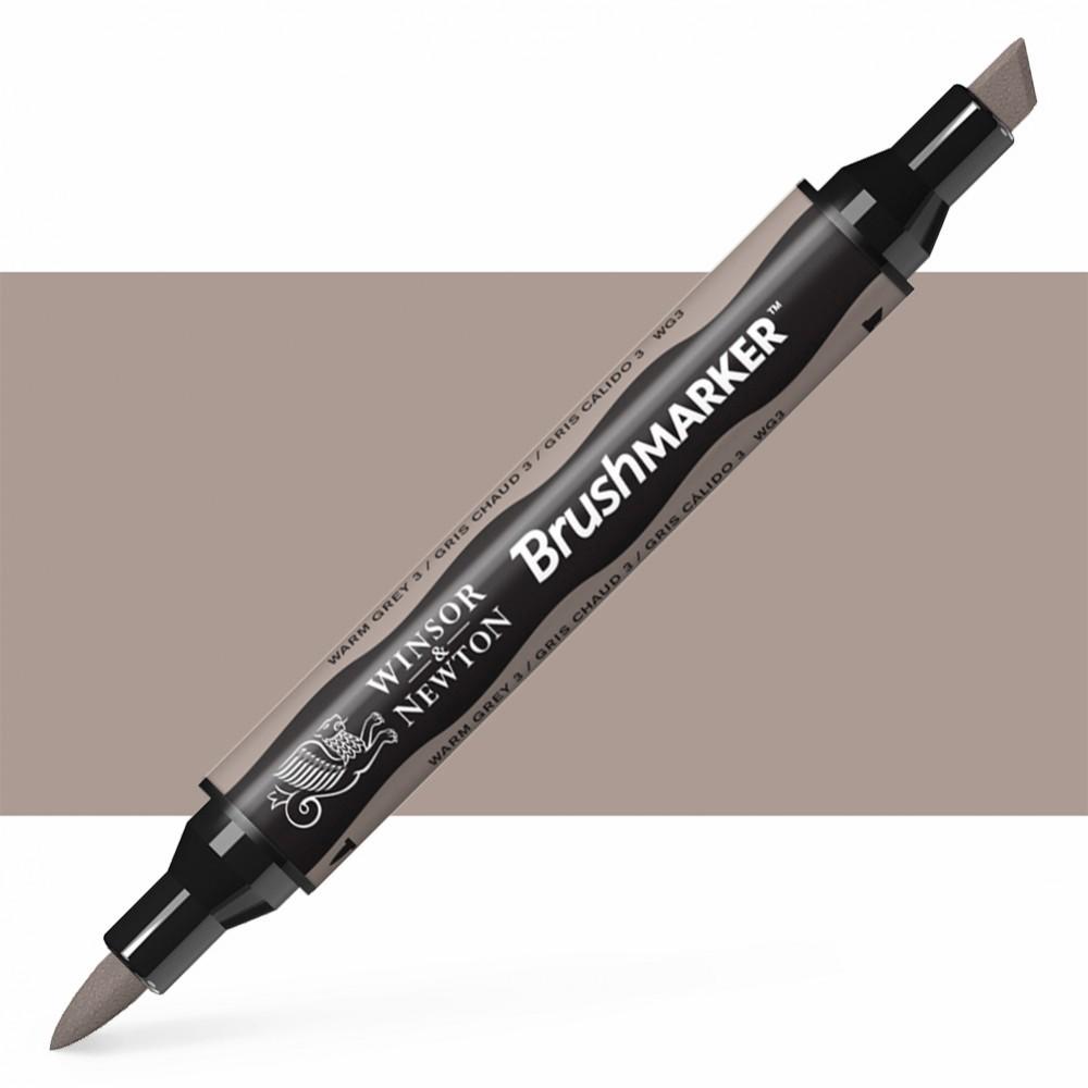 Winsor & Newton : Brush Marker : Warm Grey 3