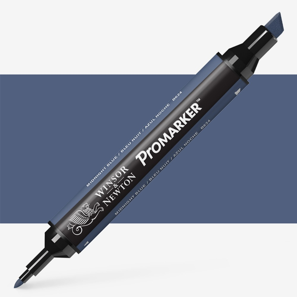 Winsor & Newton : ProMarker : Midnight Blue B624