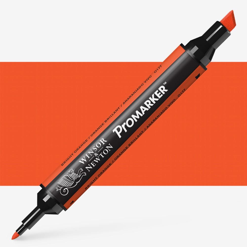 Winsor & Newton : ProMarker : Bright Orange O177