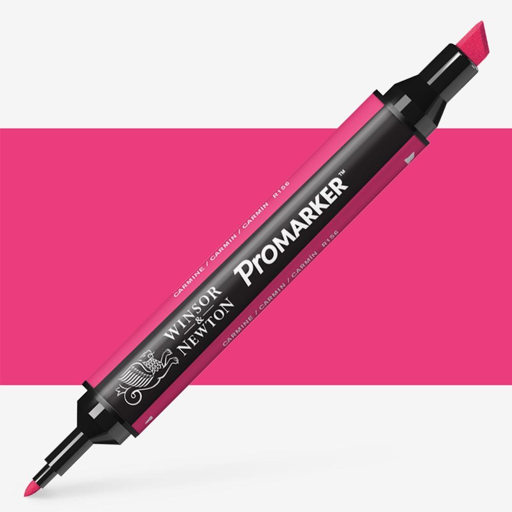 Winsor & Newton : ProMarker : Carmine R156