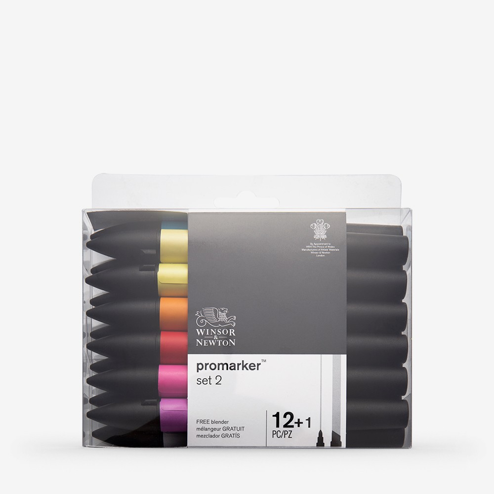 Winsor & Newton : ProMarker : Set of 12 : 2