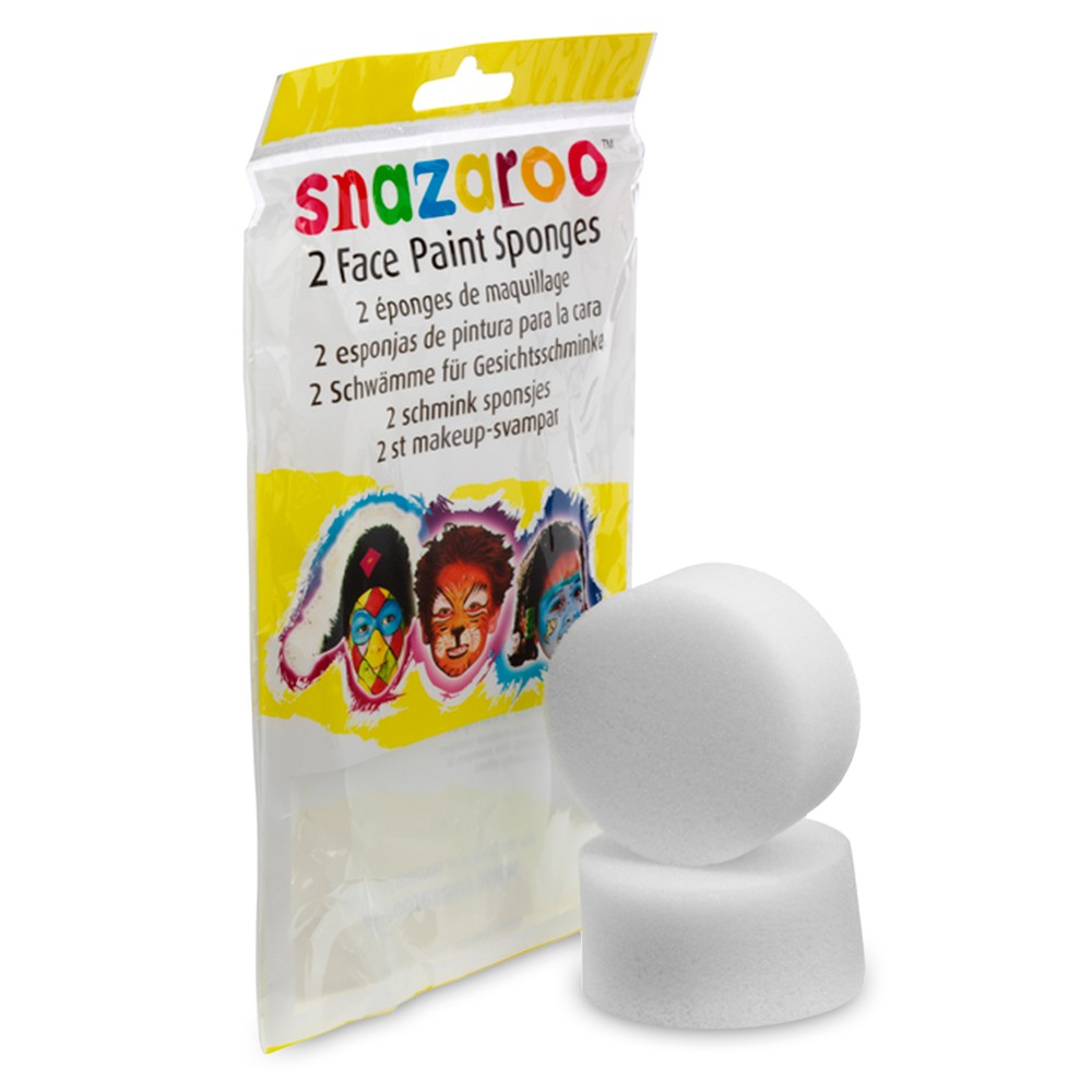 Snazaroo Face Paints Accessories High Density Sponge Pack of Two