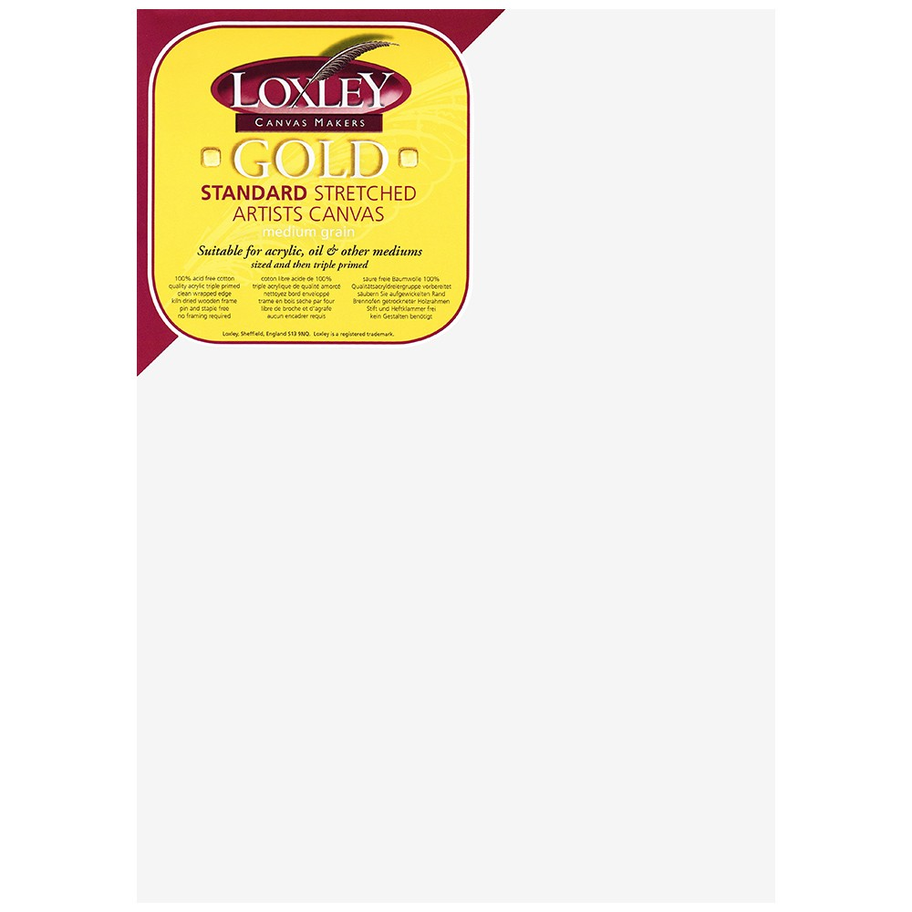 Loxley : 16mm Standard Bar Stretched Canvas : With Curved Corners : 10inx14in