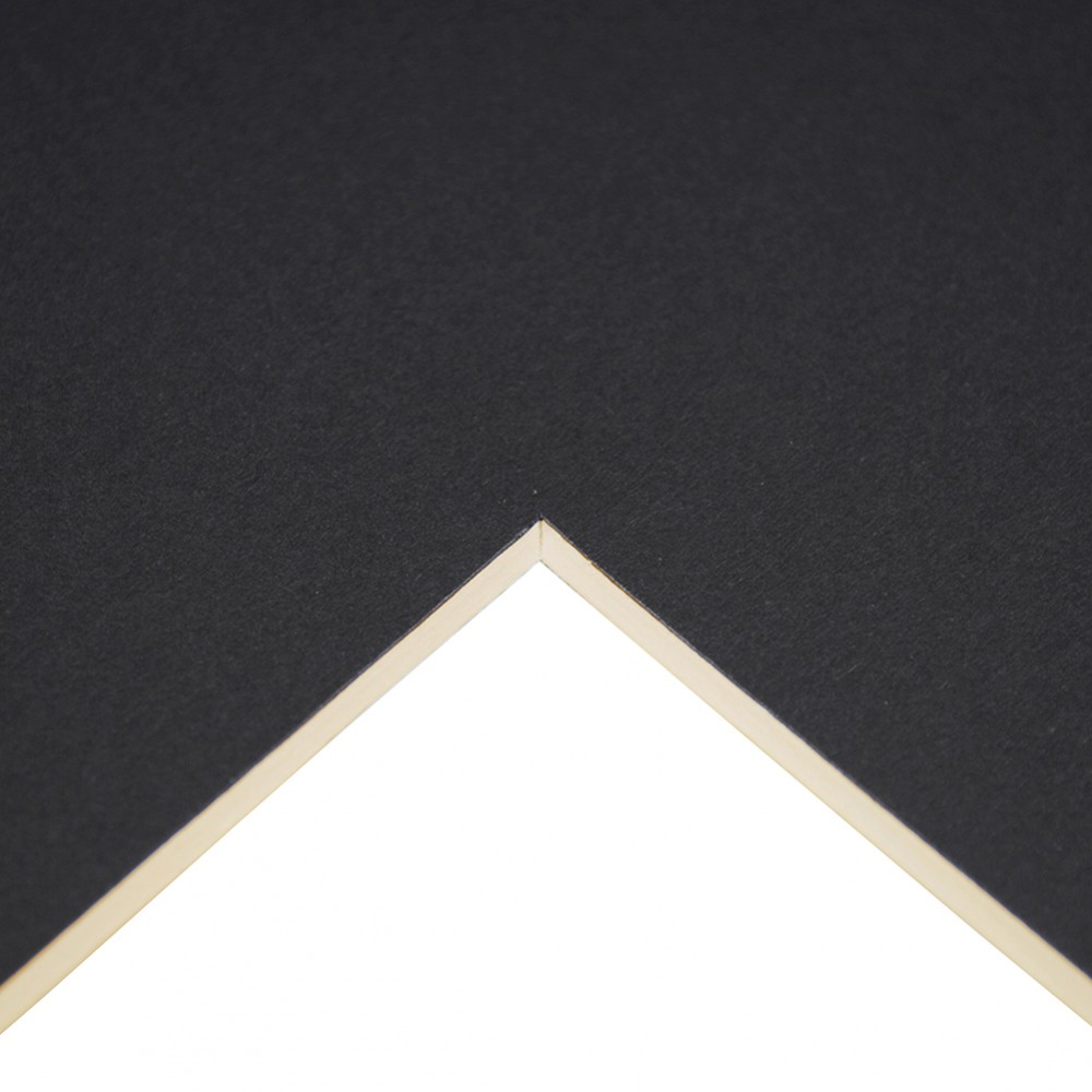 Daler Rowney : Studland Mountboard : A1 : 23x33in : Charcoal Black : 1012