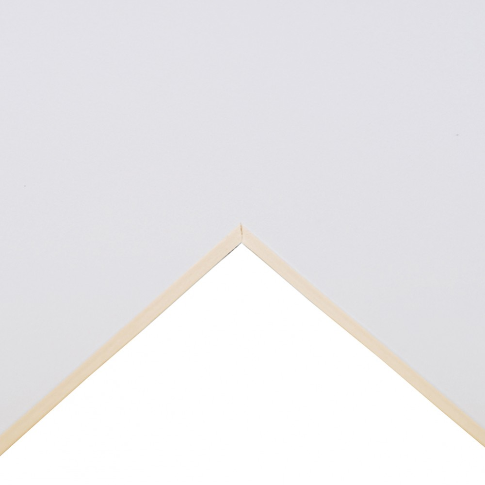 Daler Rowney : Studland Mountboard : A1 : 23x33in : Super White : 1062