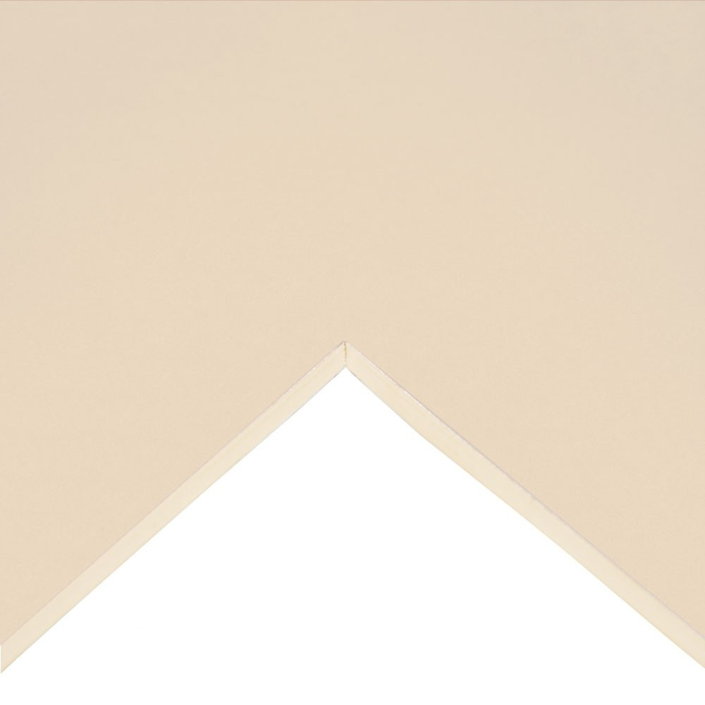 Daler Rowney : Studland Mountboard : A1 : 23x33in : Pale Ivory Texture : 1696