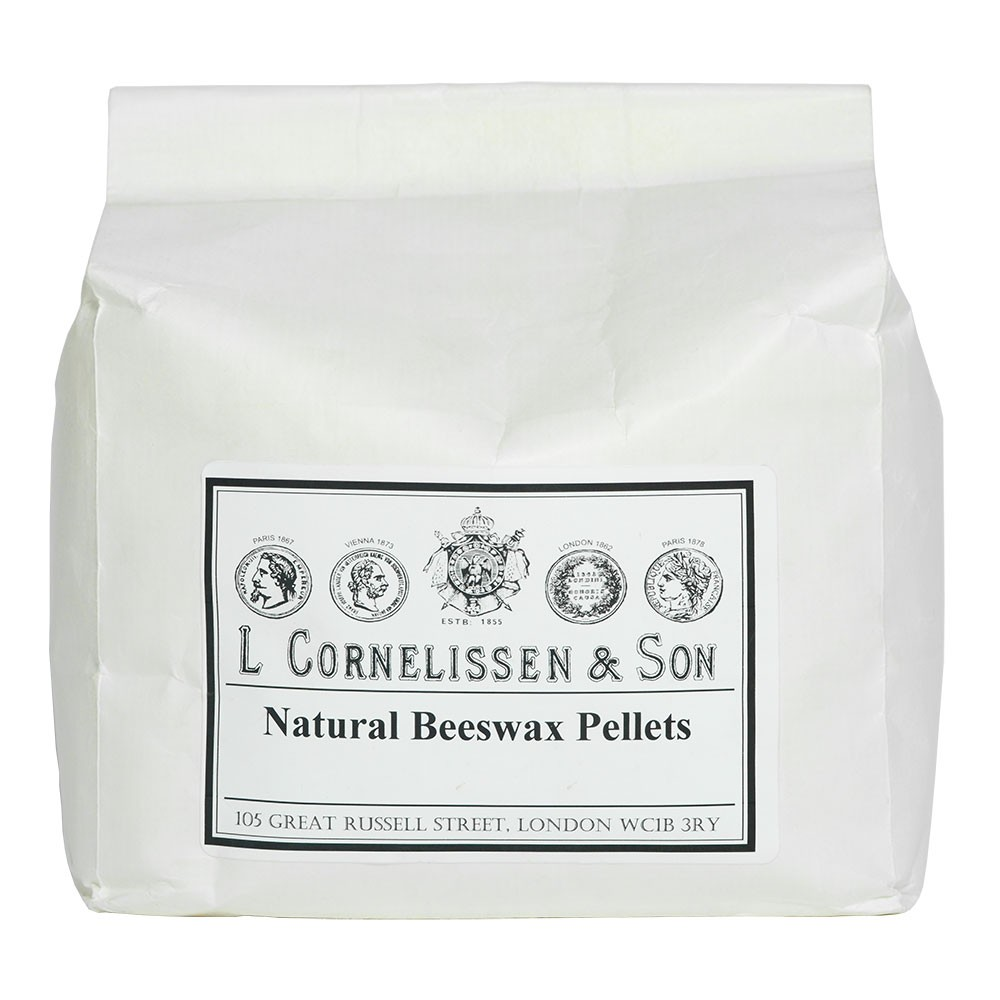 Cornelissen : Beeswax Natural Pellets : 1kg
