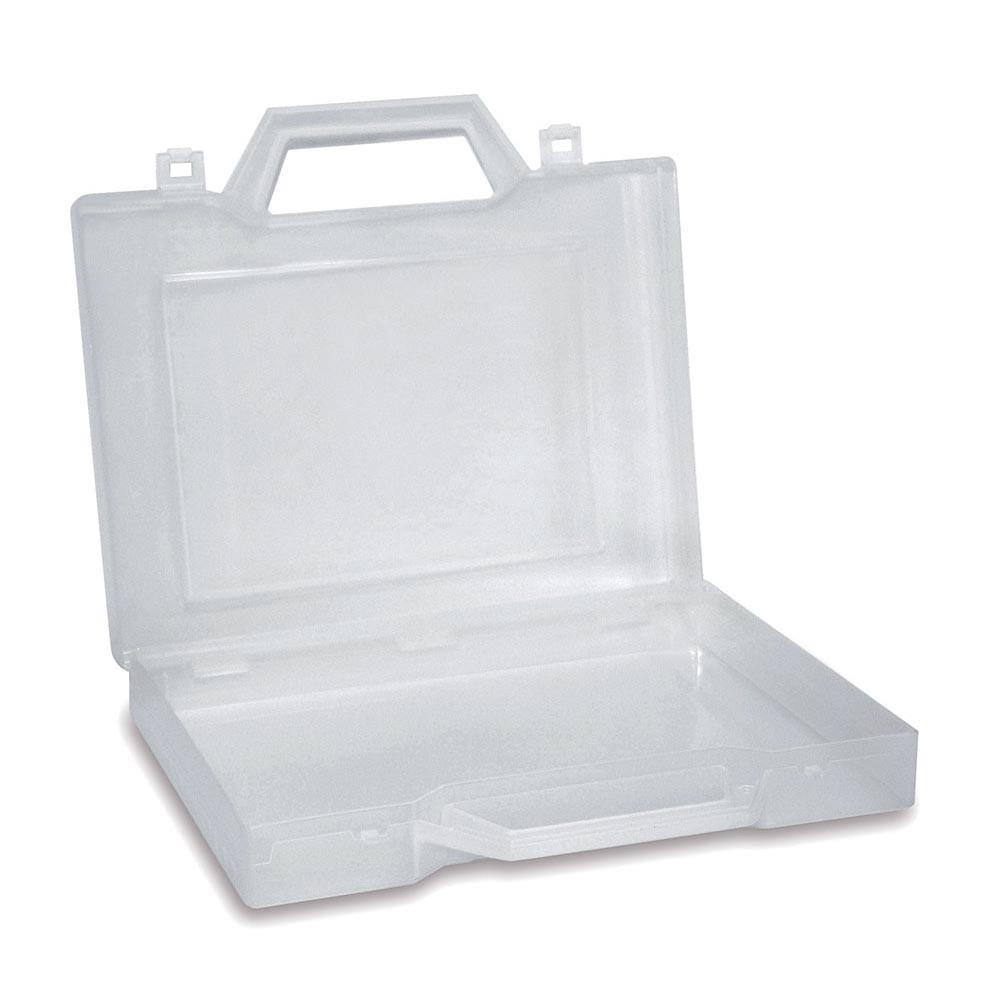 CWR : Plastic Case 23x20x4 H cm : White