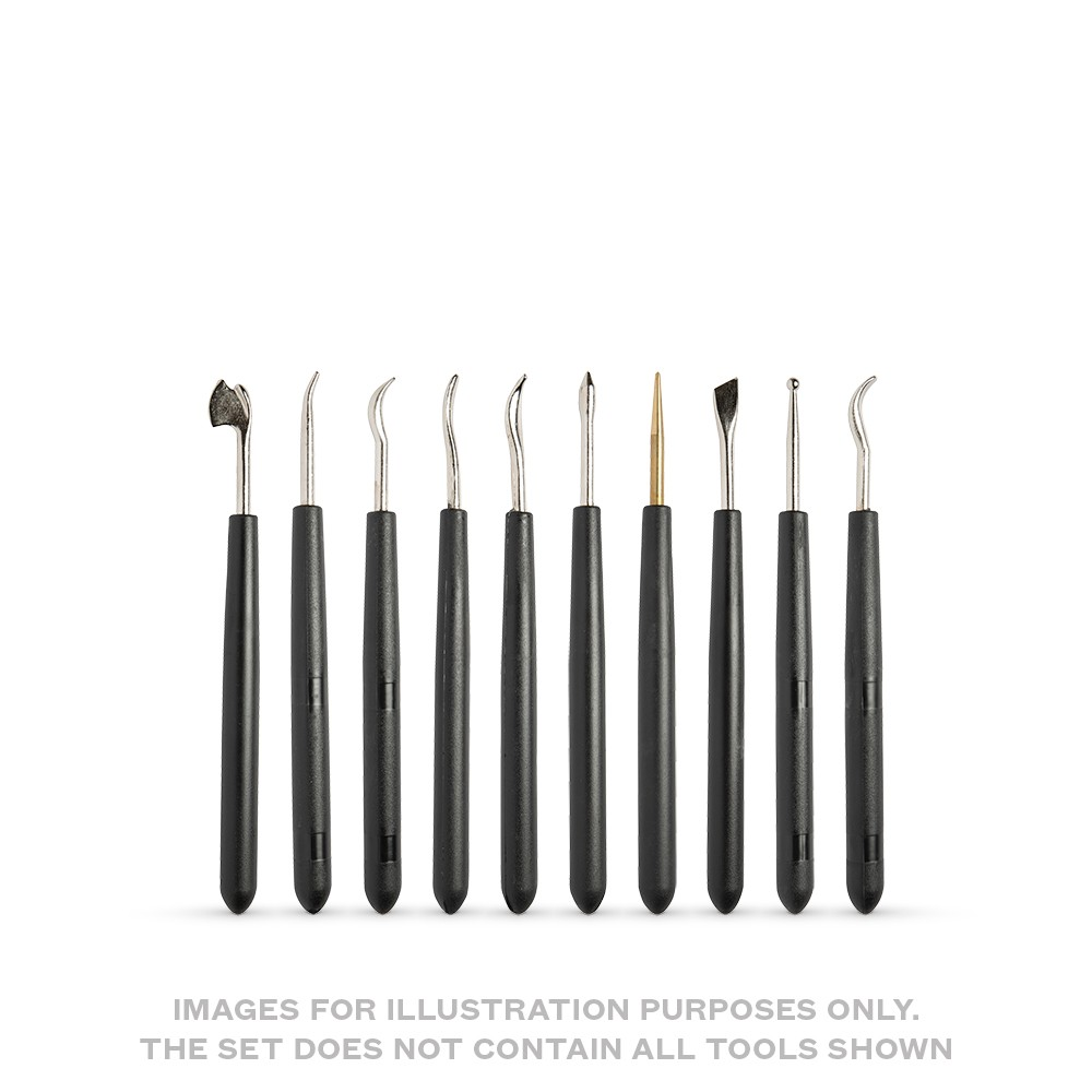 CWR : 10 Assorted Tools for Embossing and Engraving