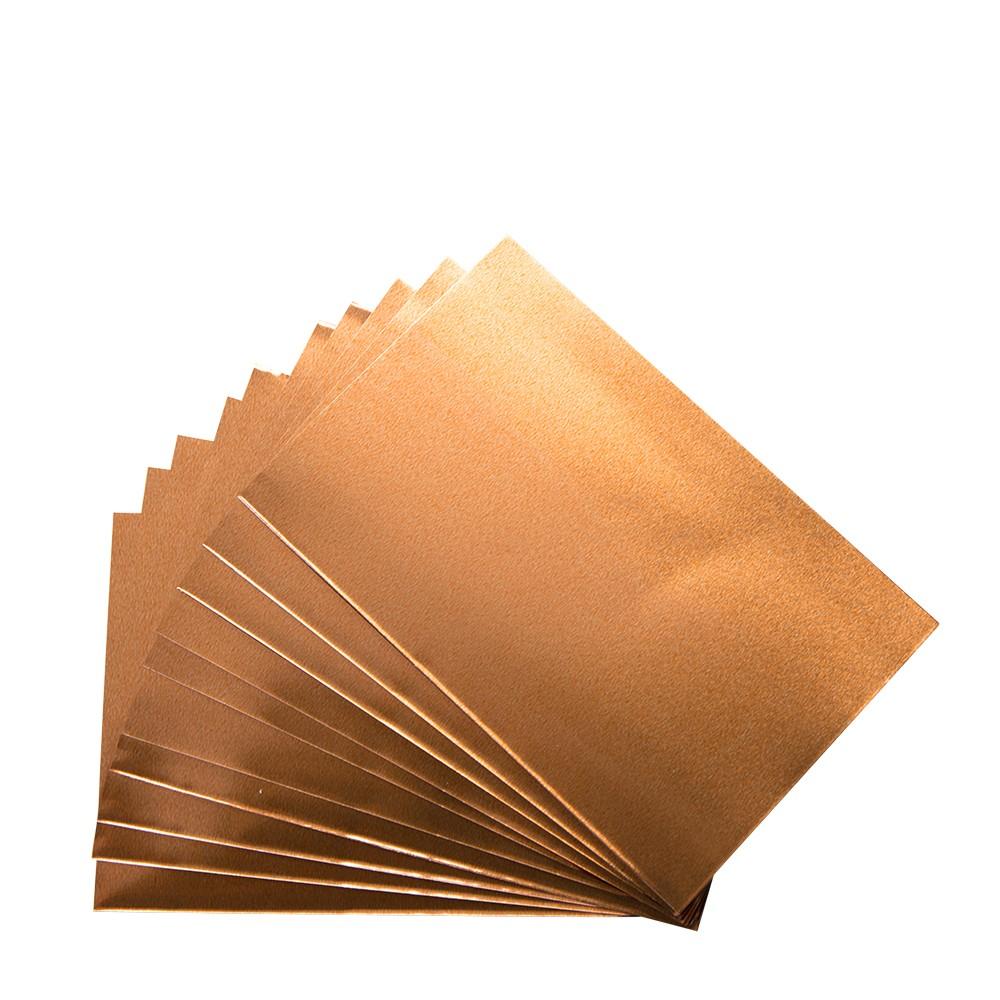 CWR : Aluminium-Copper - Set 12 Sheets 10x15 cm