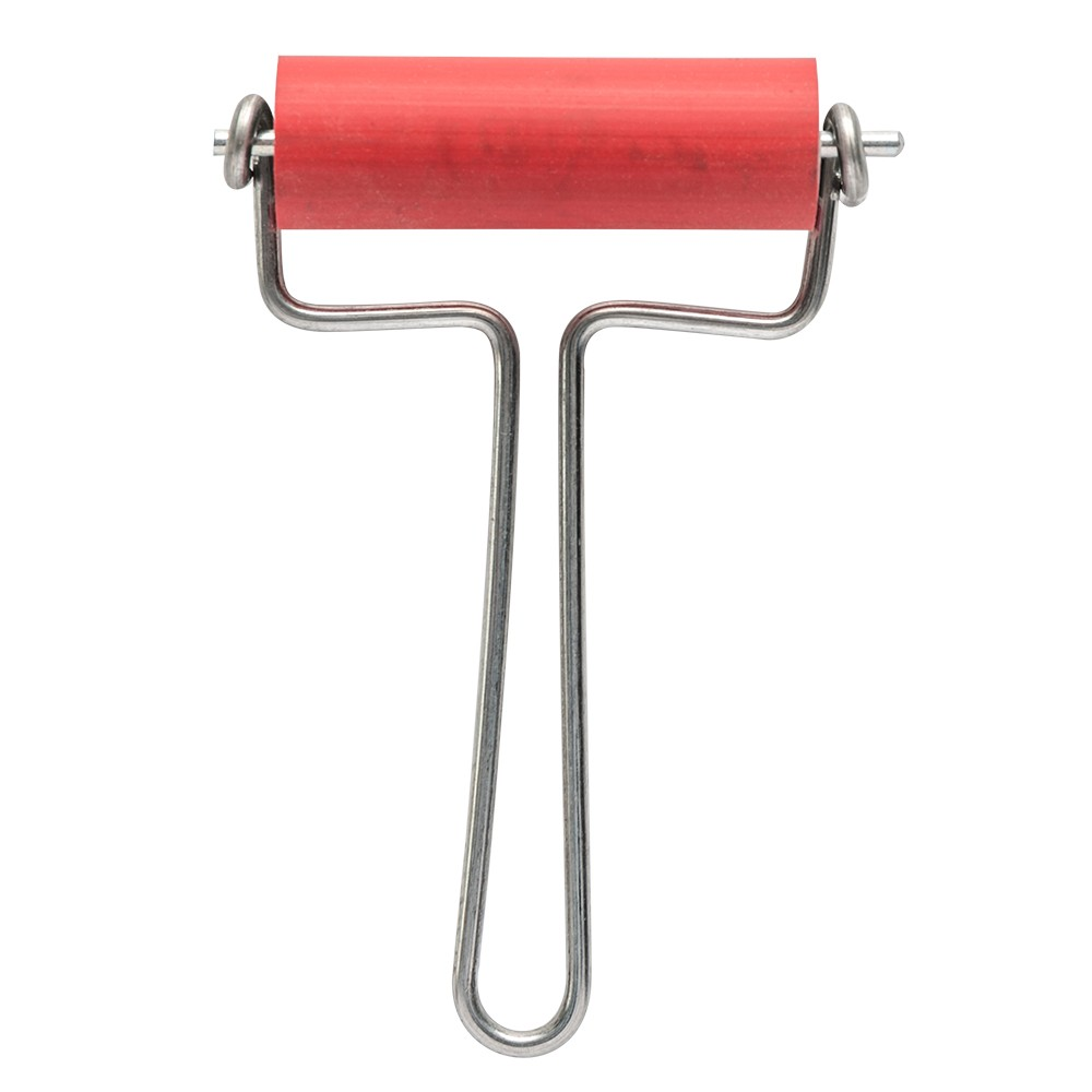 CWR : Rubber Brayer 6cm Wide 21mm Diameter Roller
