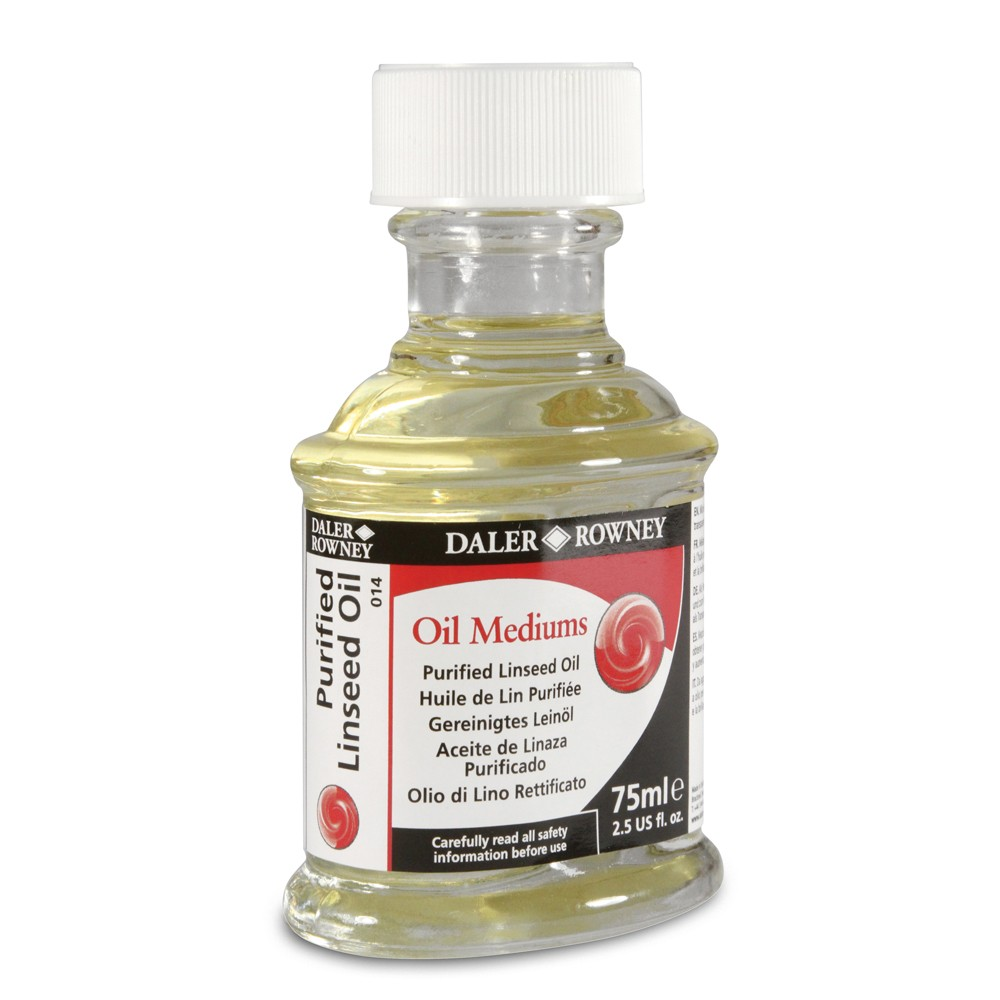 Daler Rowney : Purified Linseed Oil : 75ml