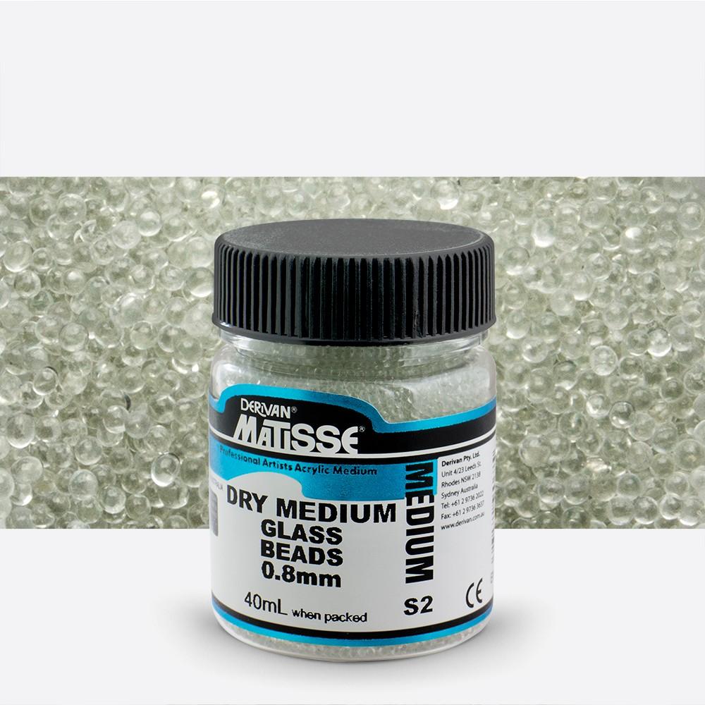 Derivan : Matisse Dry Medium : 40ml : Glass Beads : 0.8mm