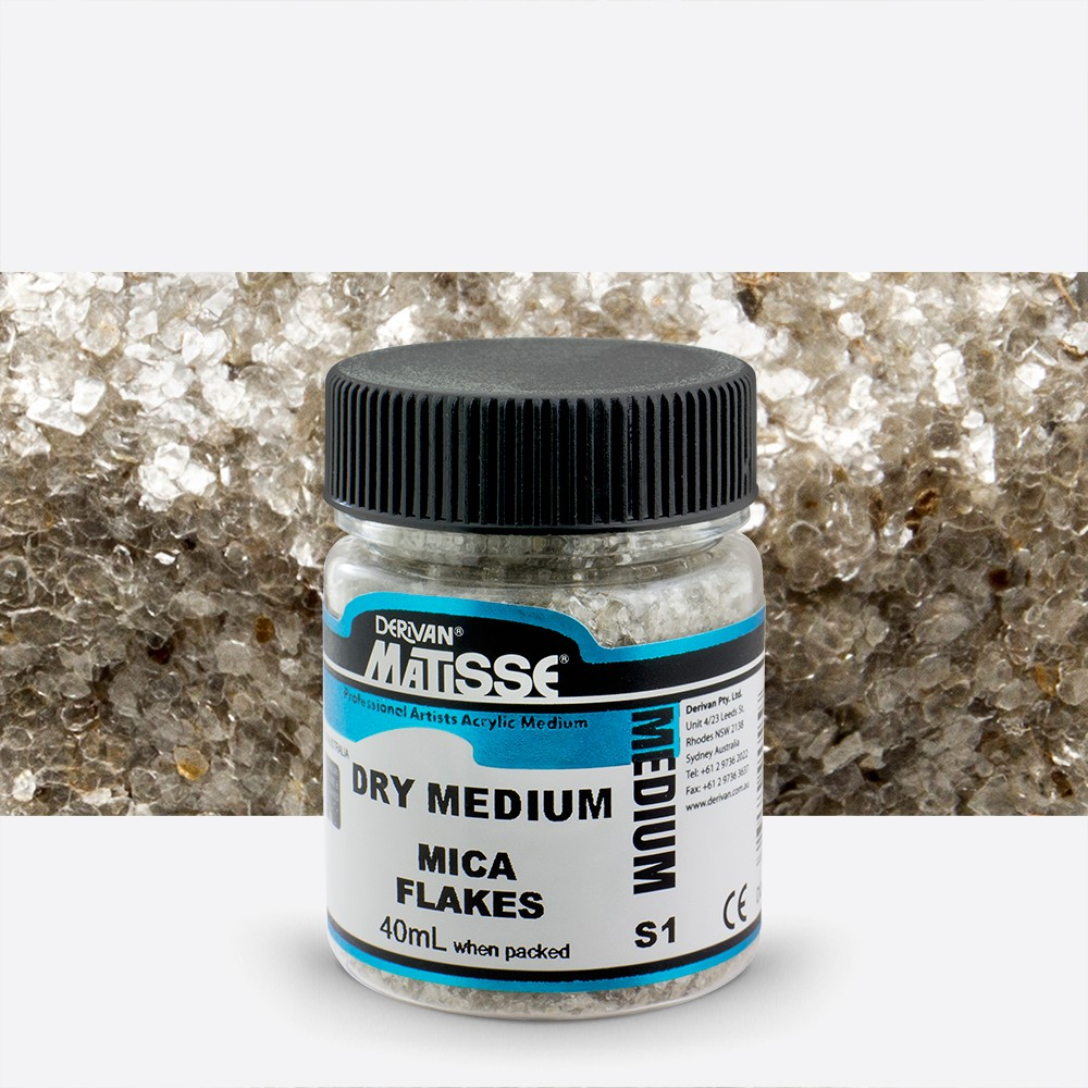 Derivan : Matisse Dry Medium : 40ml : Mica Flakes