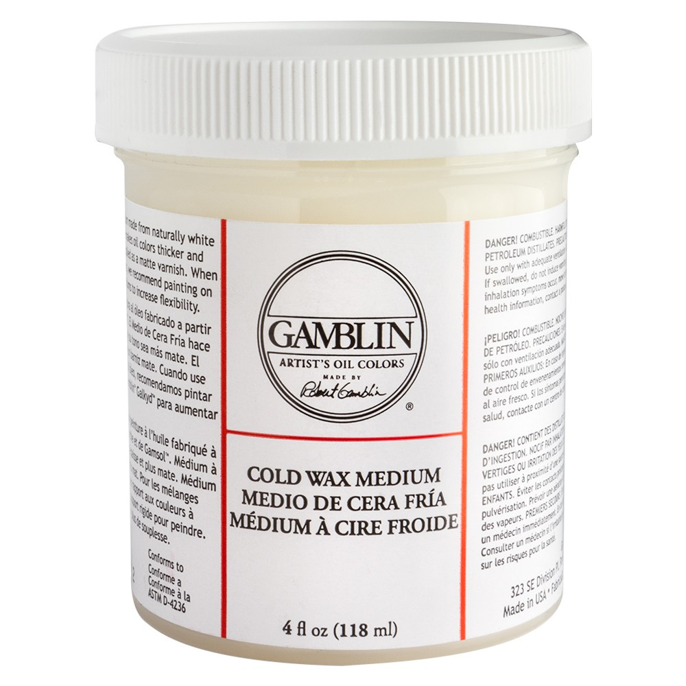 Gamblin : Cold Wax Oil Painting Medium : 118ml : By Road Parcel Only