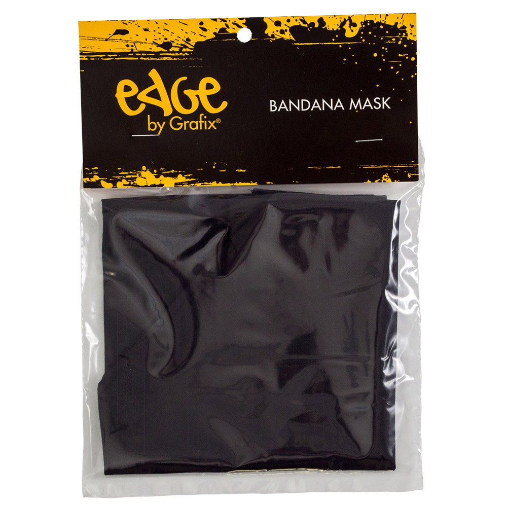 Edge : Black Bandana Mask