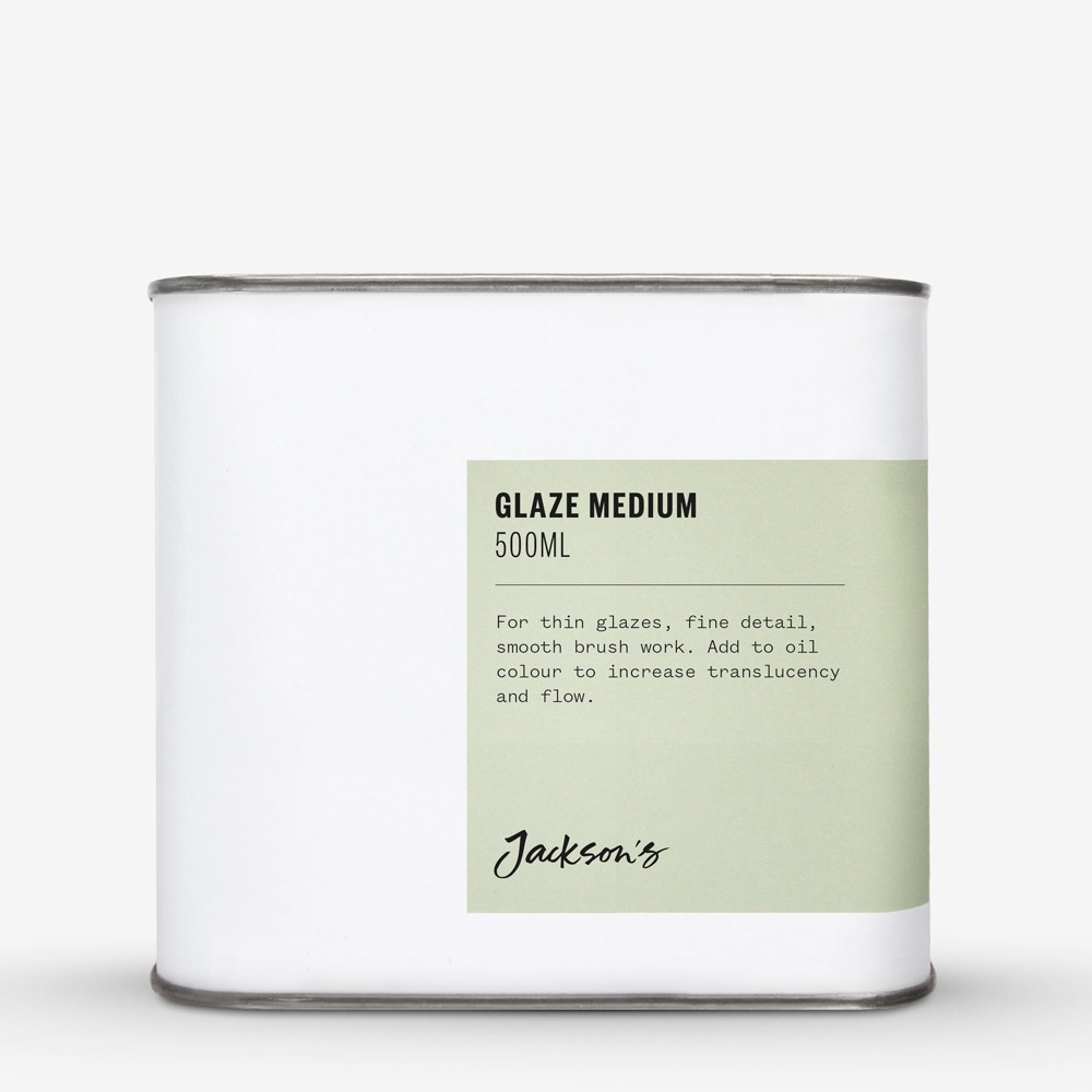 Jackson's : Glaze Medium 500ml *Haz*