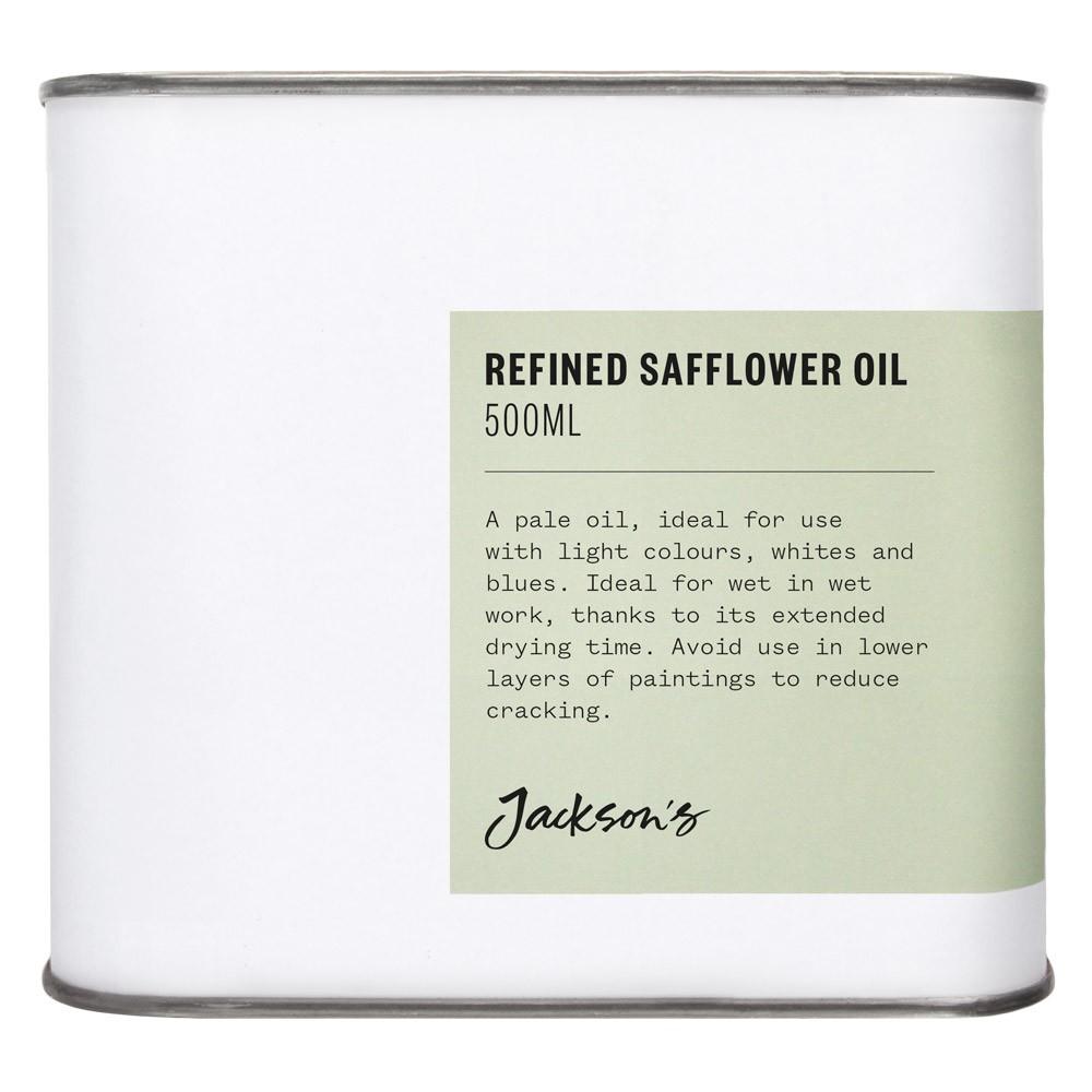 Jackson's : Refined Safflower Oil : 500ml