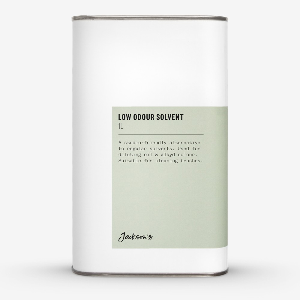 Jackson's : Low Odour Solvent 1 Litre : Ship By Road Only