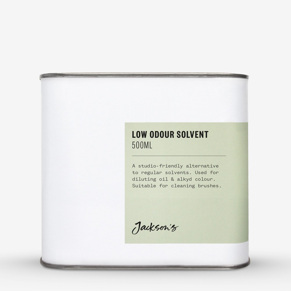 Jackson's : Low Odour Solvent 500ml : Ship By Road Only