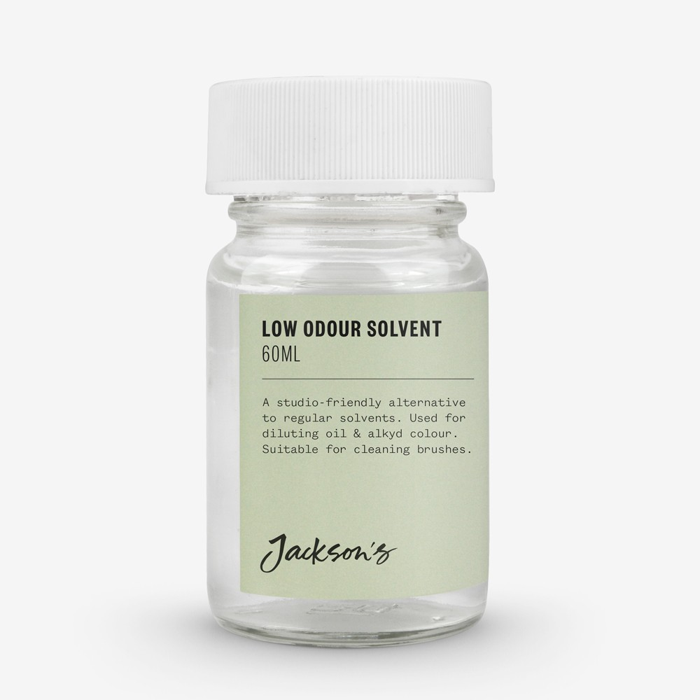 Jackson's : Low Odour Solvent 60ml : By Road Parcel Only