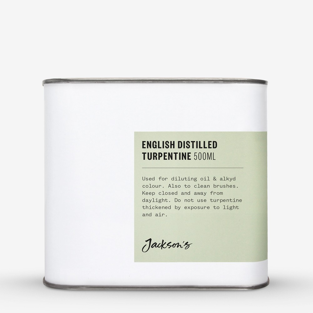 Jackson's : English Distilled Turpentine 500ml : By Road Parcel Only