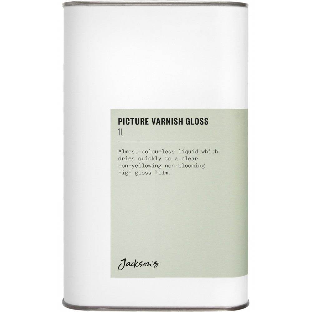 Jackson's : Picture Varnish Gloss 1 Litre : By Road Parcel Only