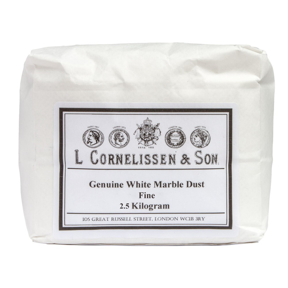 Cornelissen : Marble Dust Fine Grain : Genuine White : 2.5kg