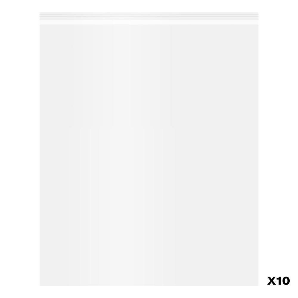 Jackson/'s Self-Seal Polypropylene Bag Pack of 10 16x20in