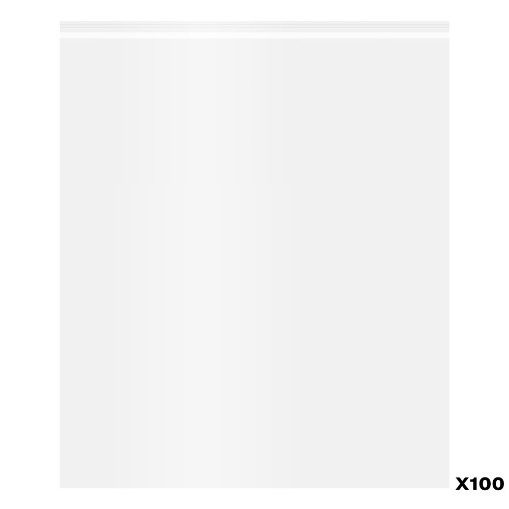 Jackson's : Self-Seal Polypropylene Bag : Pack of 100 : 20x24in