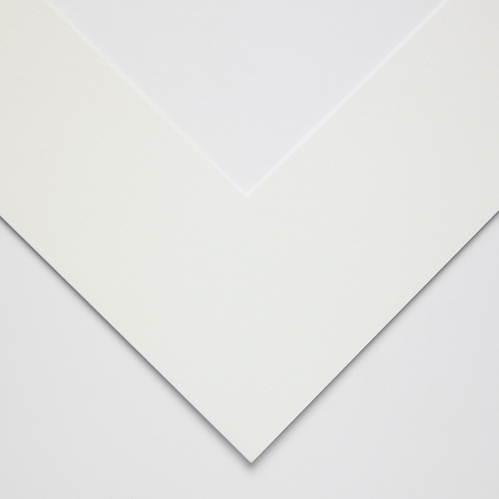 JAS : White Core Pre-Cut Mounts 1.4mm outer size : 35x46cm aperture size : 24x34cm : Soft White
