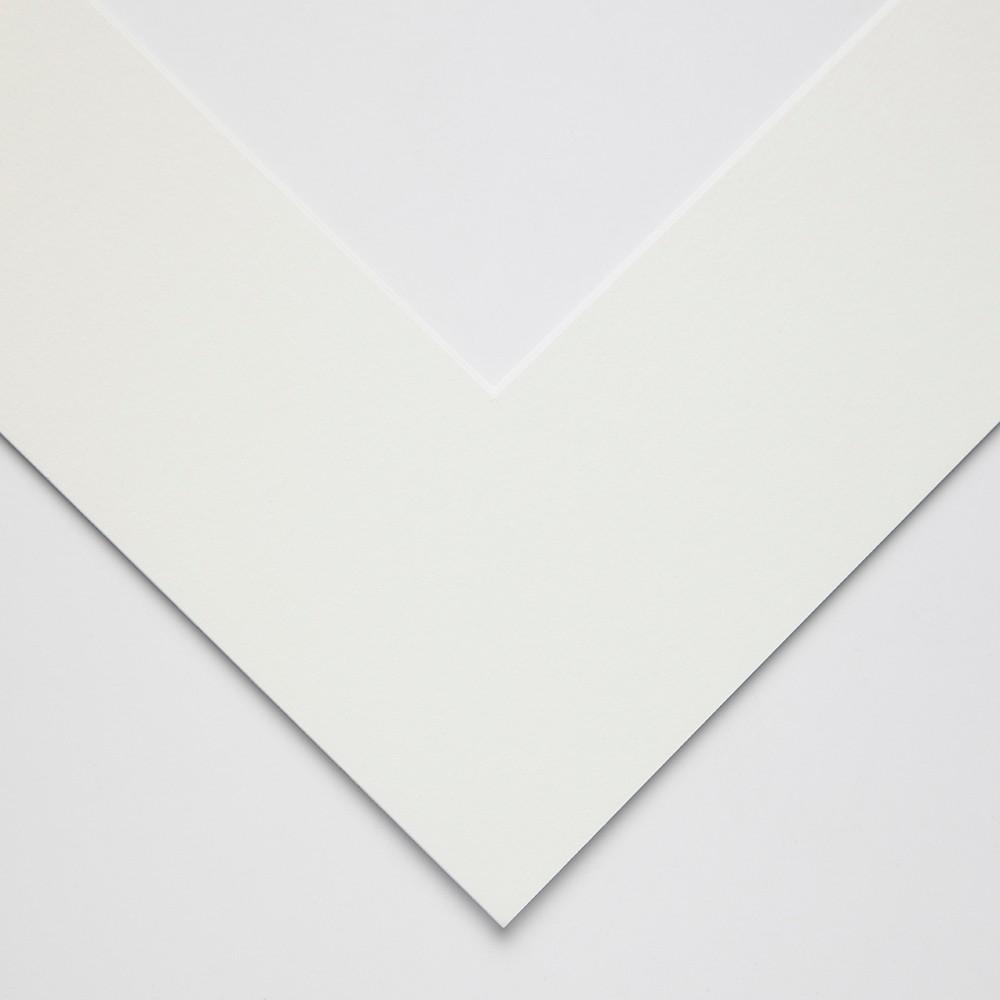 JAS : White Core Pre-Cut Mounts 1.4mm outer size : 35x46cm aperture size : 24x34cm : Soft White : Box of 25