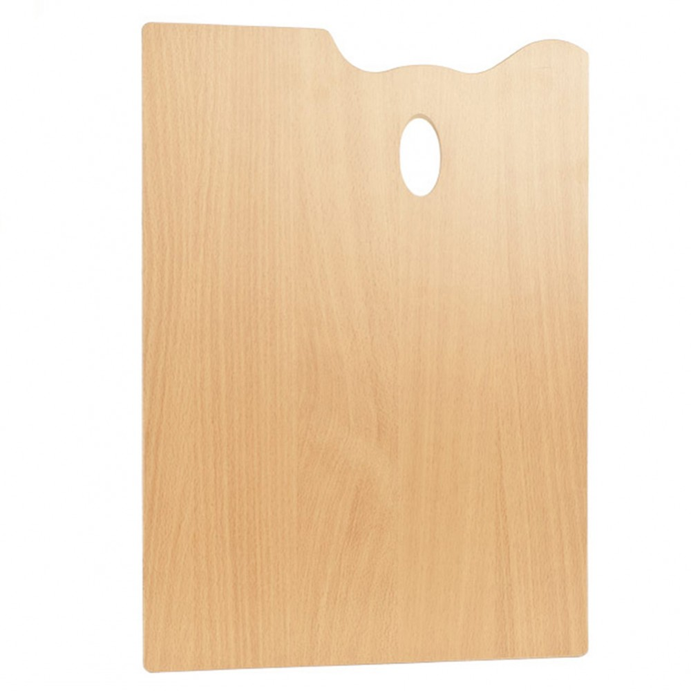 Mabef : RECTANGLE Wooden Palette 35 x 45 cm (3.7mm thick)