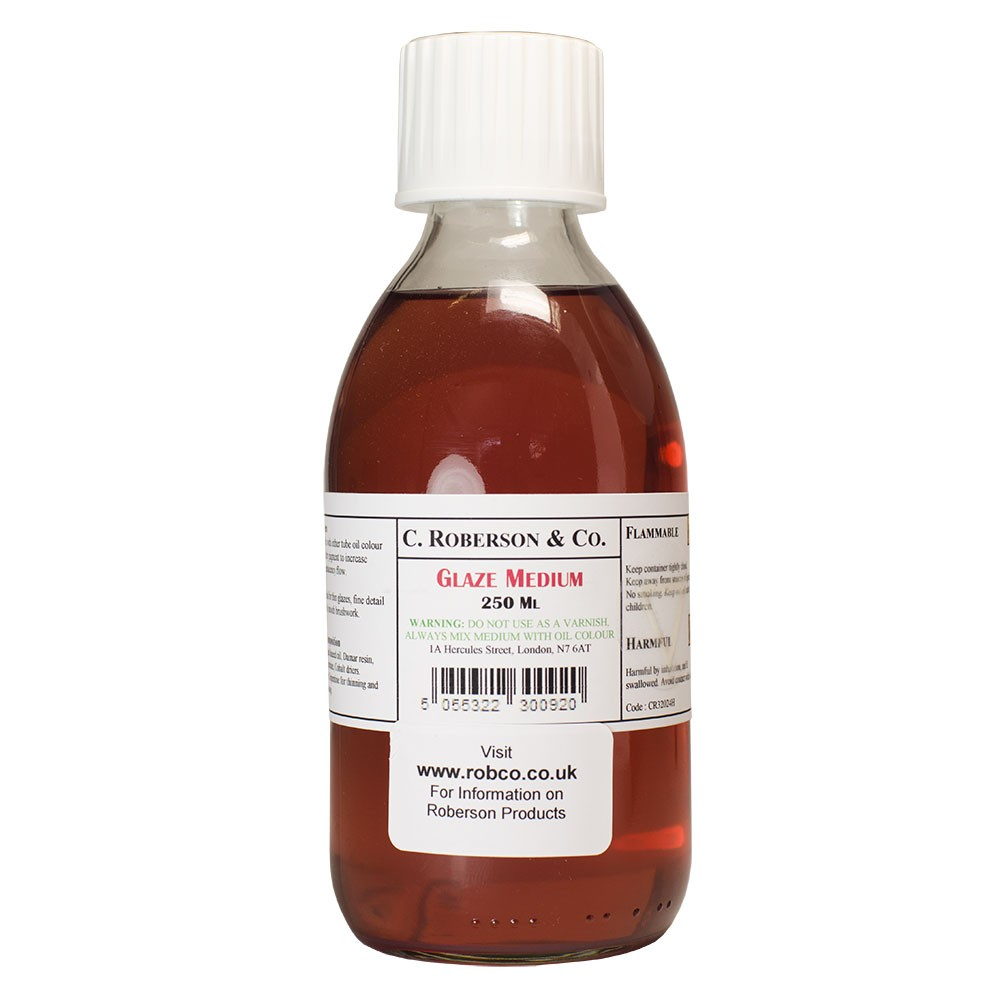 Roberson : Glaze Medium : 250ml : By Road Parcel Only