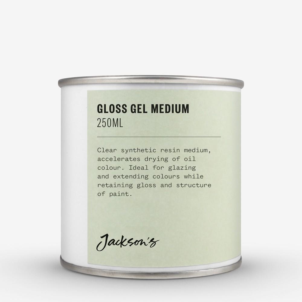 Jackson's : Gloss Gel Medium : 250ml Oil Colour Medium : By Road Parcel Only