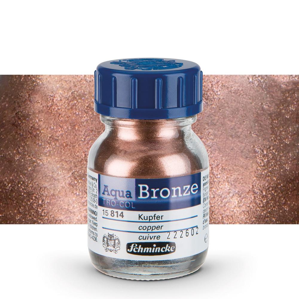 Schmincke : Aqua Bronze Powder : 20ml : Copper : By Road Parcel Only