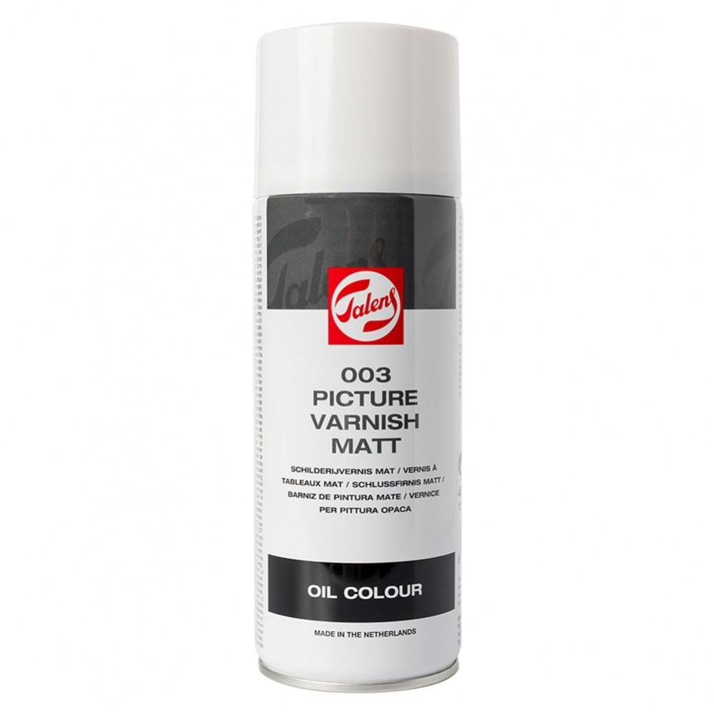 Royal Talens : Varnish Matt Spray Can : 400ml : Ship By Road Only