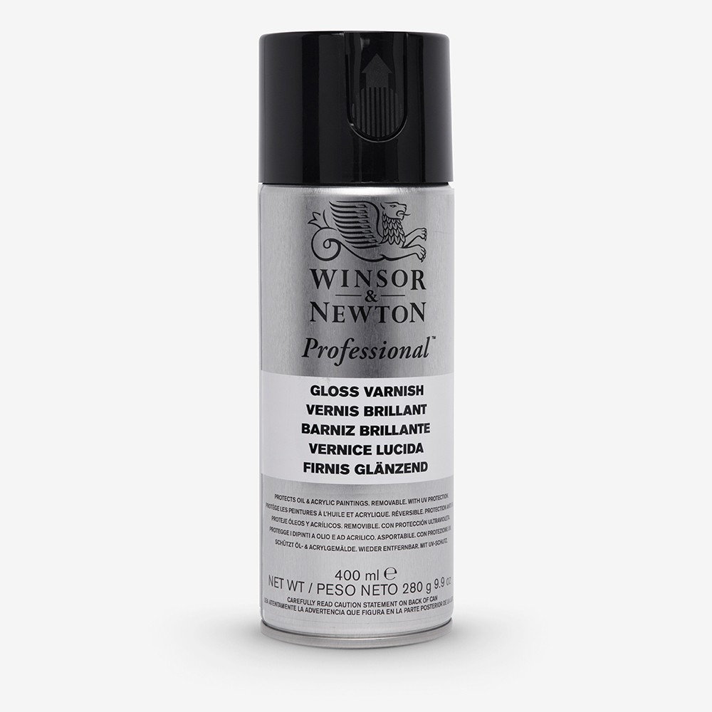 Winsor & Newton : Artists Picture Varnish Spray : 400ml : Gloss : By Road Parcel Only