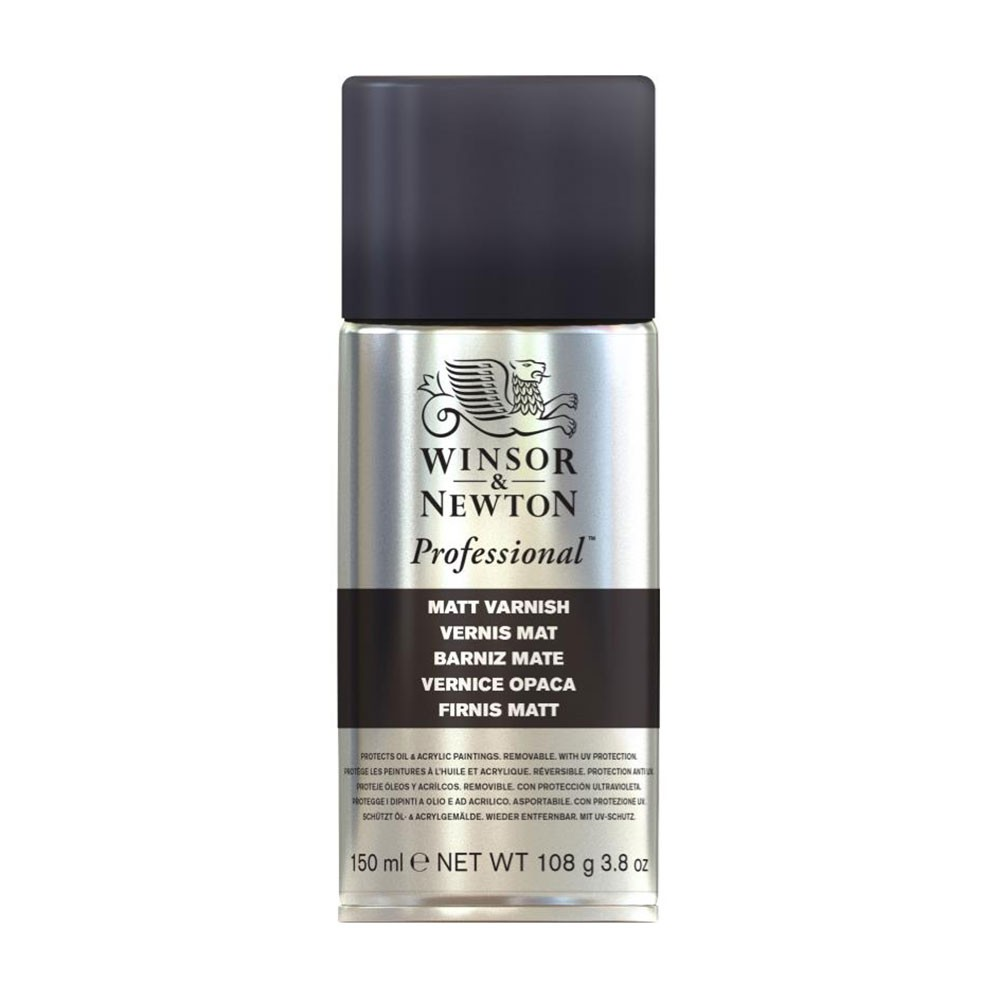 Winsor & Newton : Artists Picture Varnish Spray : 150ml : Matt : By Road Parcel Only