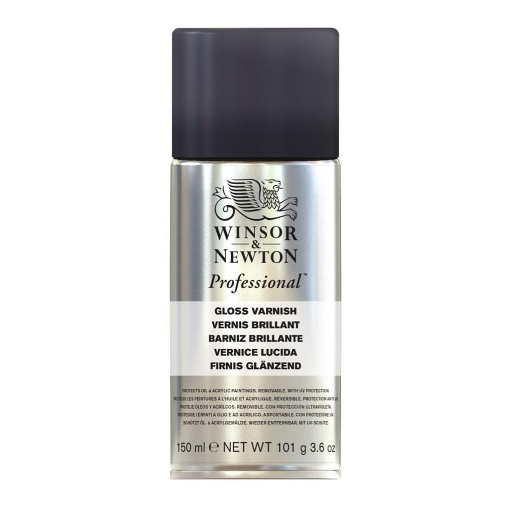 Winsor & Newton : Artists Picture Varnish Spray : 150ml : Gloss : By Road Parcel Only