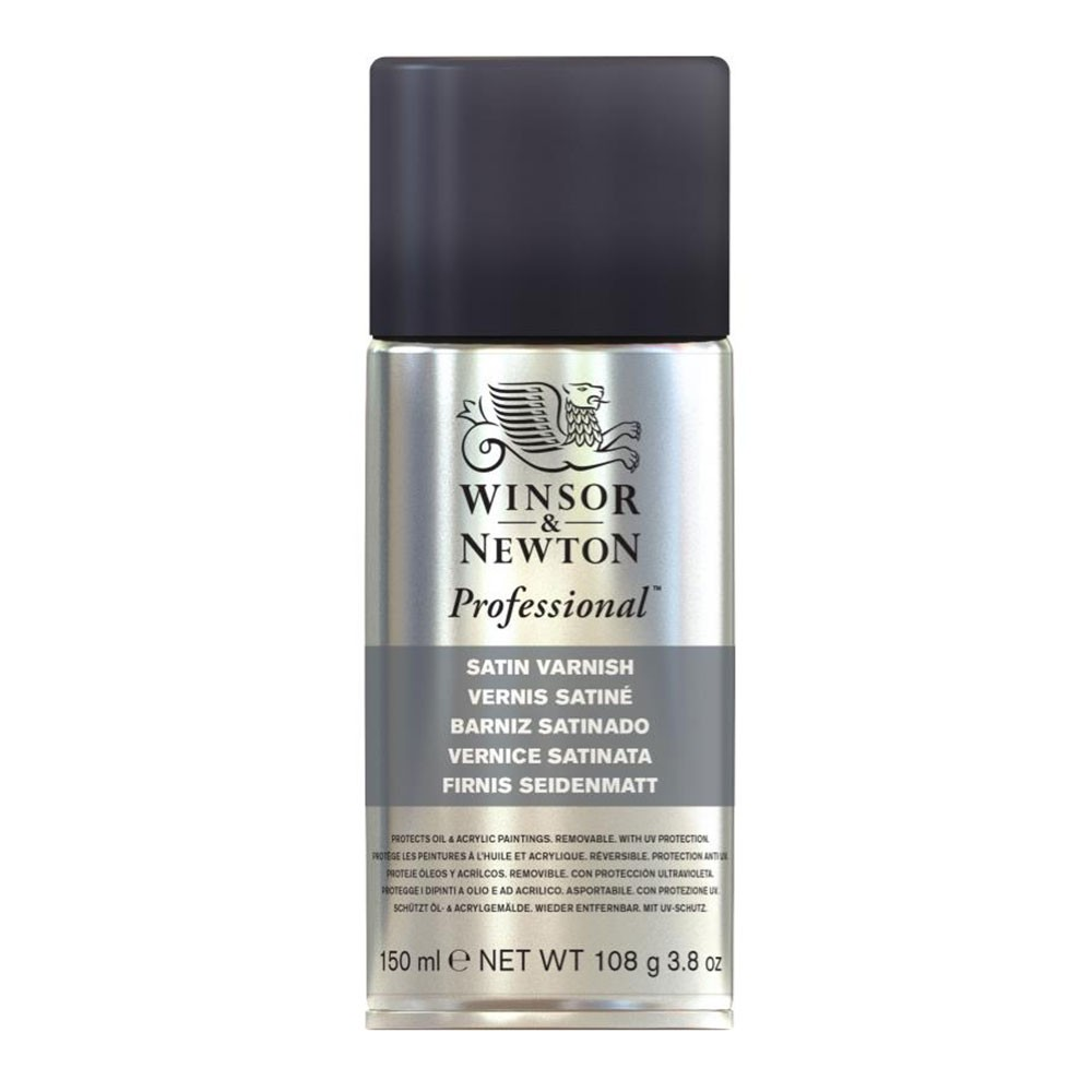 Winsor & Newton : Artists Picture Varnish Spray : 150ml : Satin : By Road Parcel Only
