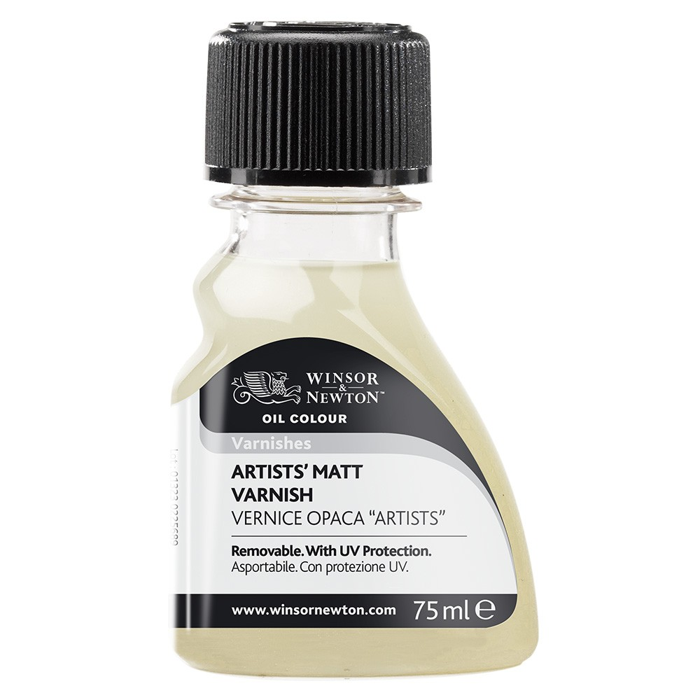 Winsor & Newton : Artists Matt Varnish : 75ml